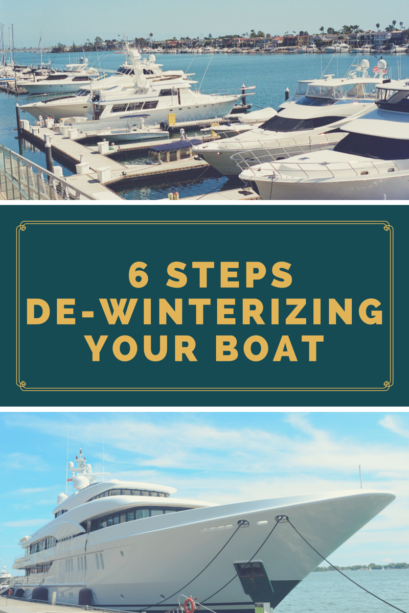 De-Winterizing Your Boat