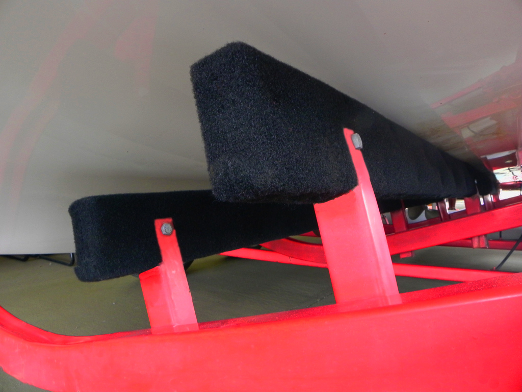 How To Re Carpet Boat Trailer Bunks Corinthian Marine